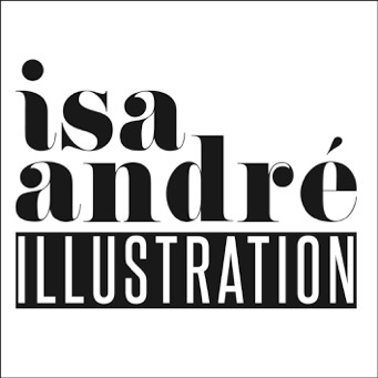 logo isa andre illustration