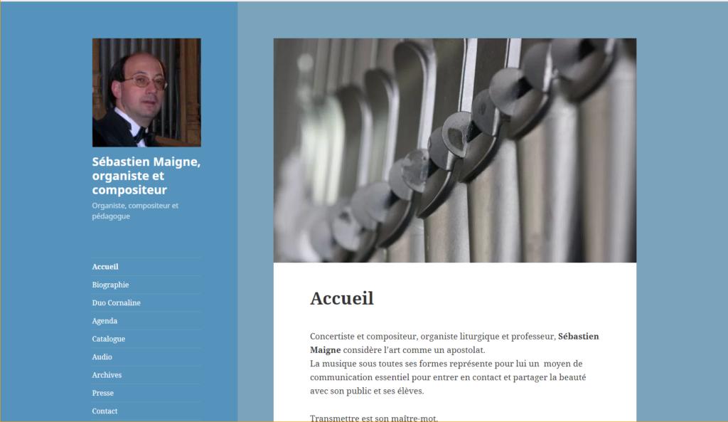 site Sebastien Maigne