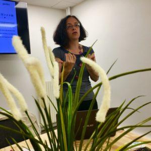 Sylvie Massey en conférence