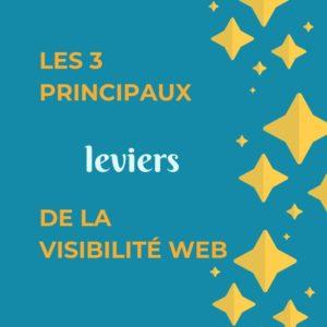 Les 3 principaux leviers de la visibilité Web